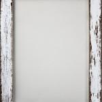 17. Whitewash timber frame